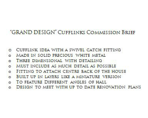 Grand design comission brief